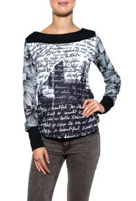 Smash Elan long sleeve printed t-shirt