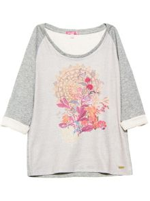 Smash Ebullient mottled sweatshirt