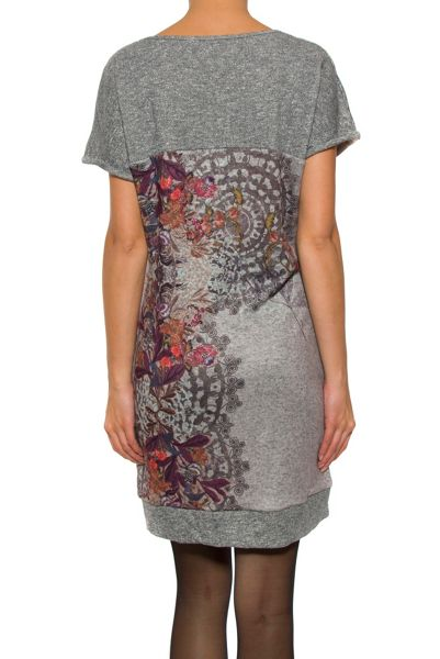 Smash Devilish short sleeve dress with yoke