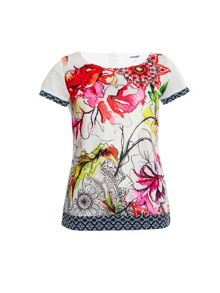 Smash Metud short sleeve printed top