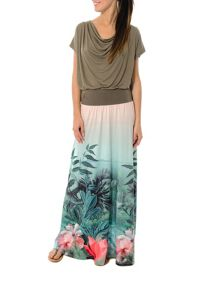 Smash Tribu maxi printed skirt