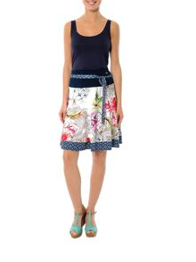 Smash Shia a-line printed skirt