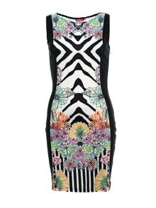 Smash Espy sleeveless printed dress