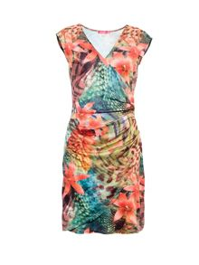 Smash Avelina wrap printed dress