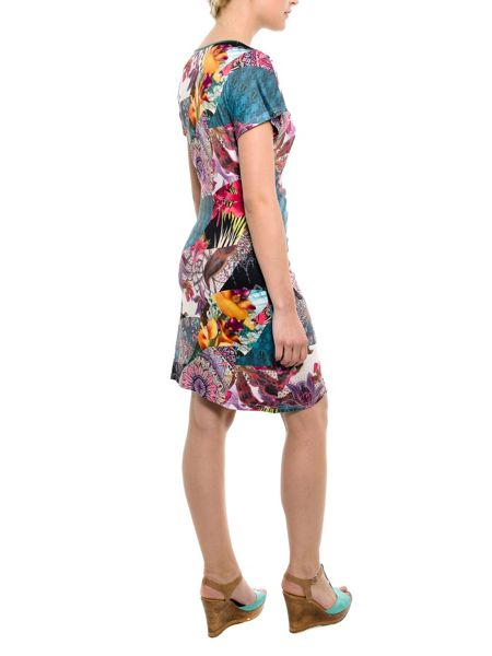 Smash Audeley wrap printed dress
