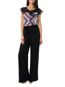 Smash Oasis basic wide leg trousers