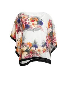 Smash Space printed blouse