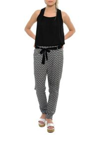 Smash Mouse straight leg printed trousers