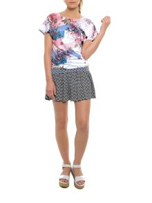 Smash Wale short sleeve printed t-shirt