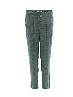 Olivo straight leg printed trousers