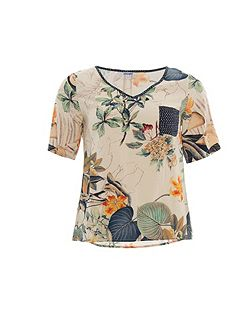 Rubi short sleeve printed t-shirt