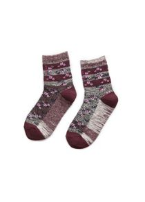 Girls flower ankle socks pack