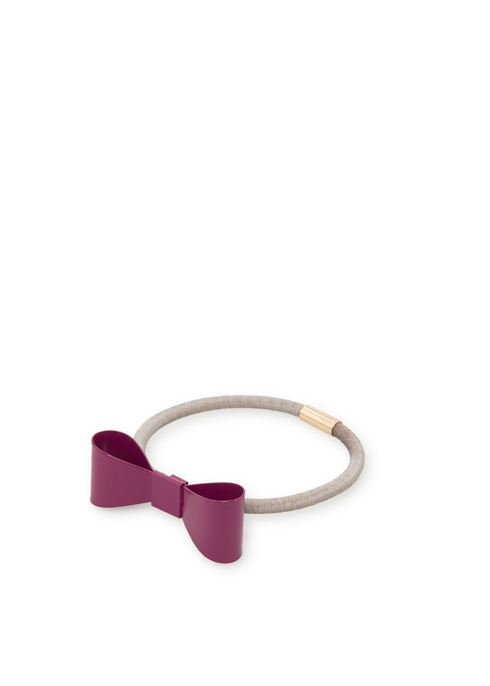 Girls bow hair tie