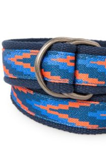 Boys ikat canvas belt