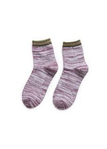 Boys striped ankle socks pack