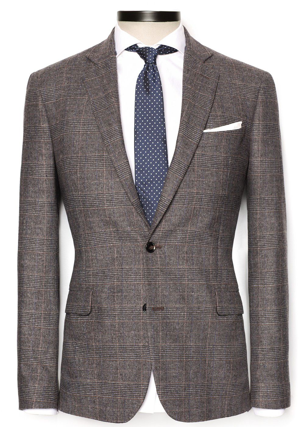 Prince of Wales suit blazer