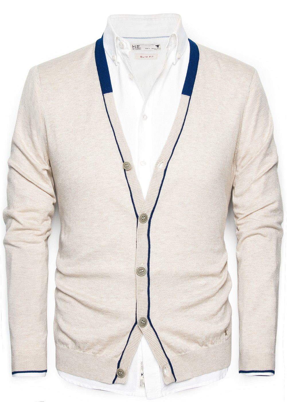 Cashmere cotton-blend cardigan