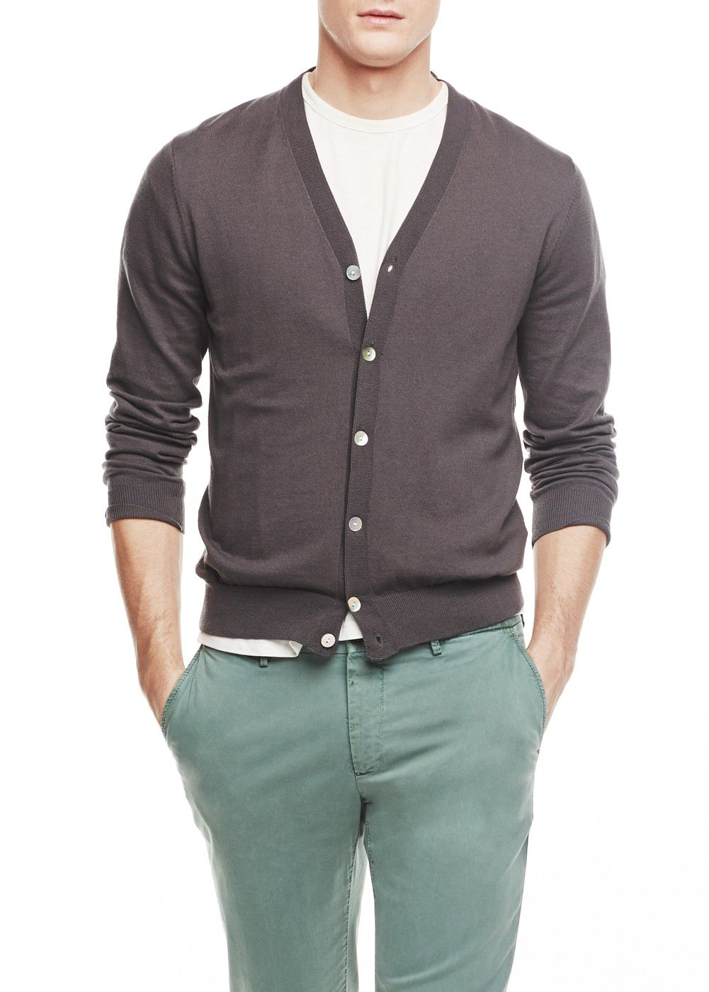 Silk cotton-blend Premium cardigan
