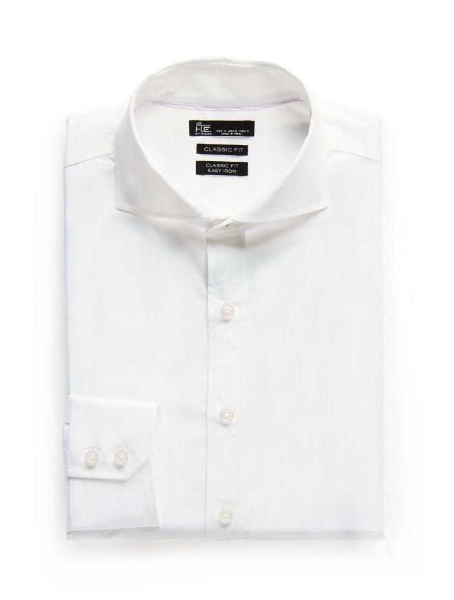 Classic-fit Premium cotton shirt