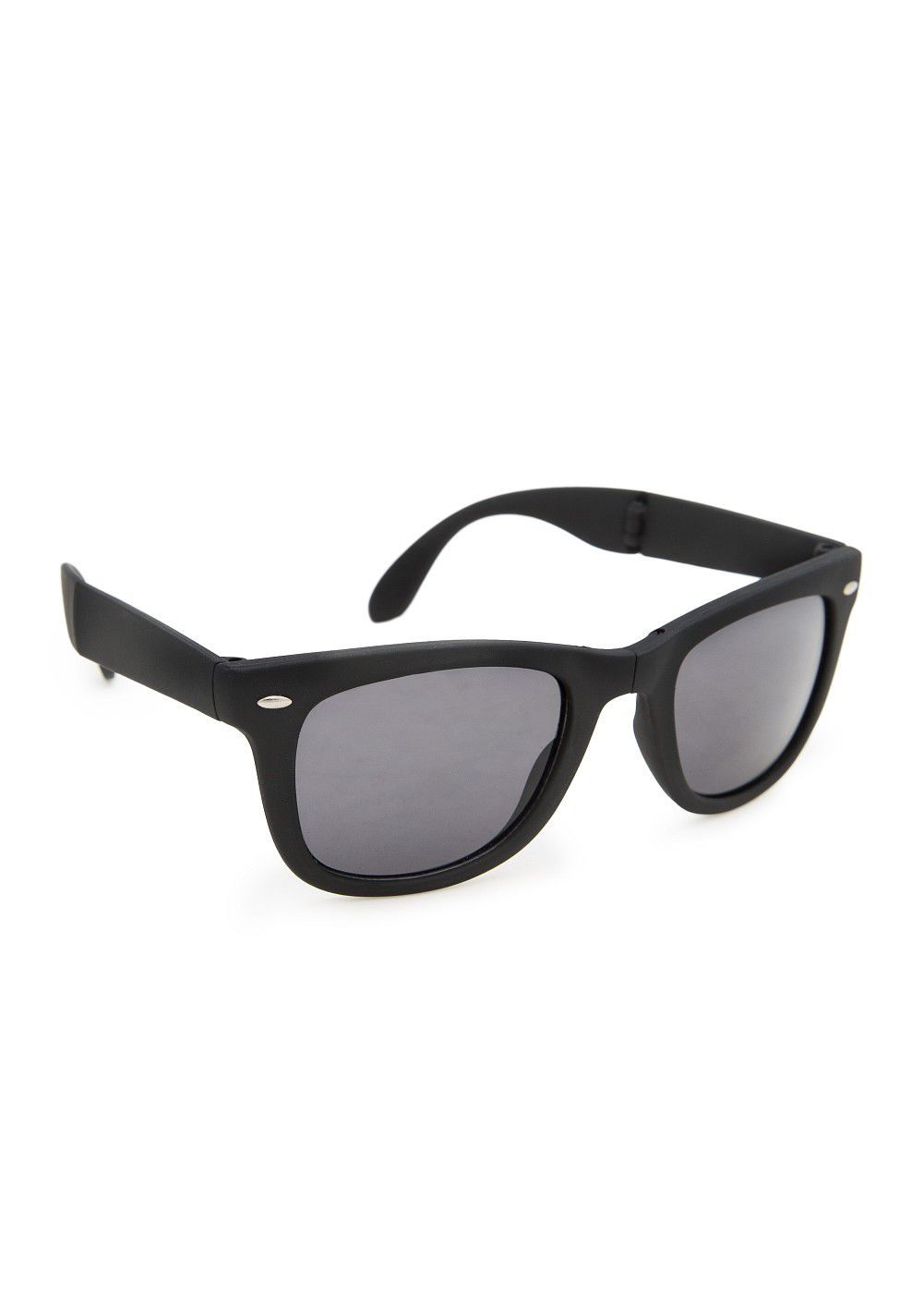 Foldable matte sunglasses