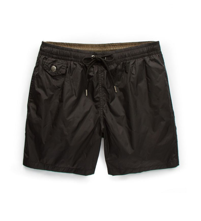 Multi-pocket swim shorts