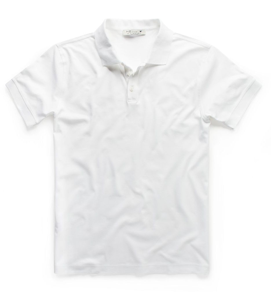 Essential cotton polo shirt