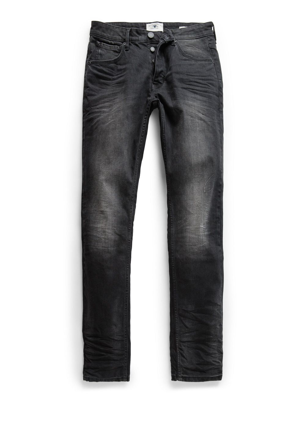 Slim-fit black Tim jeans