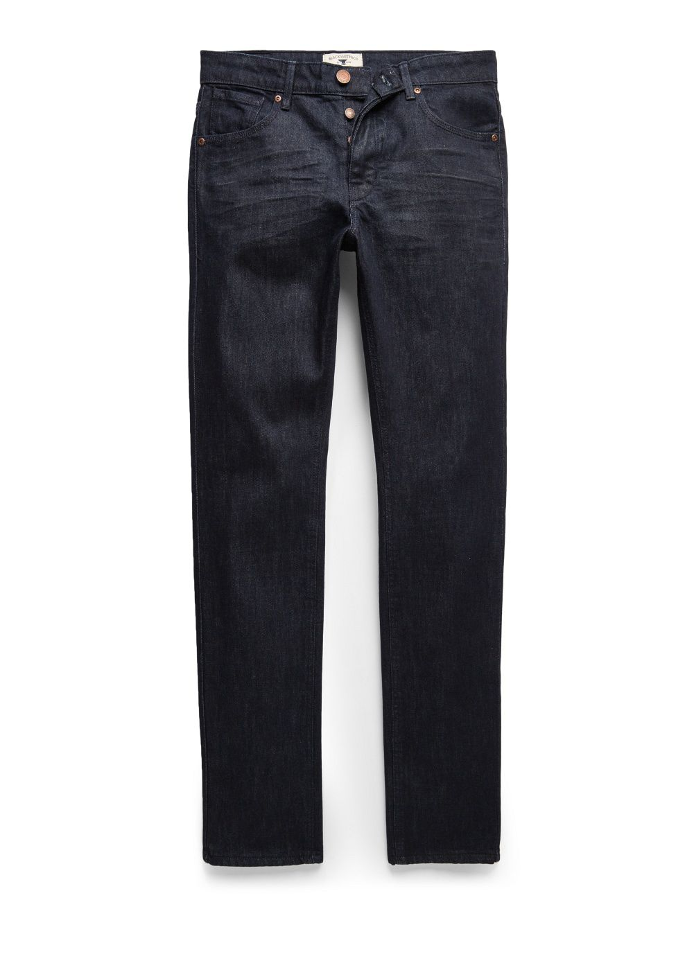 Slim-fit dark Tim jeans