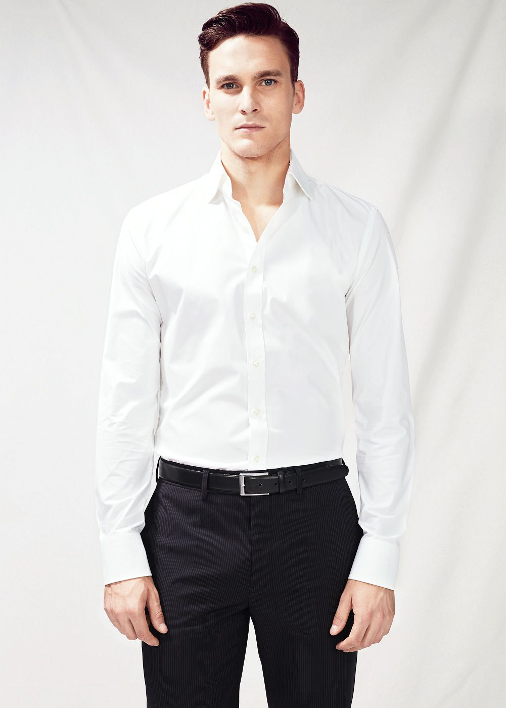 Slim-fit Tailored cotton shirt