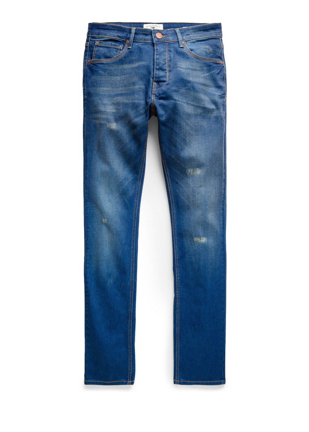 Slim-fit vintage wash Tim jeans
