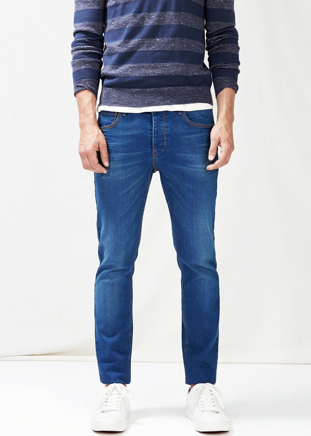 Slim-fit ink Tim jeans