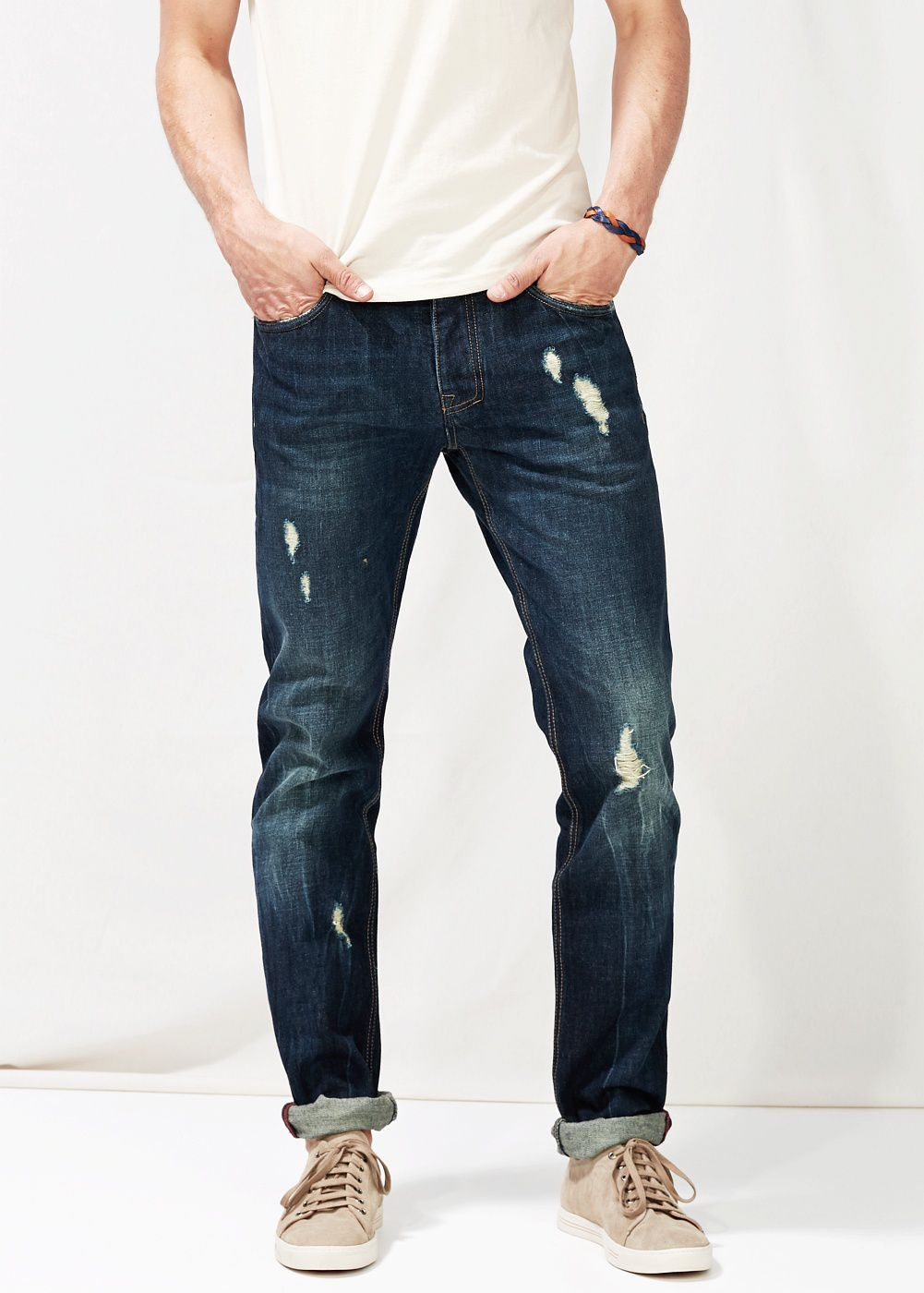 Slim-fit Premium dark Steve jeans