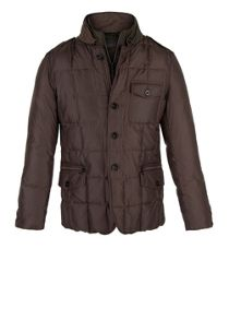 Waterproof down feather coat