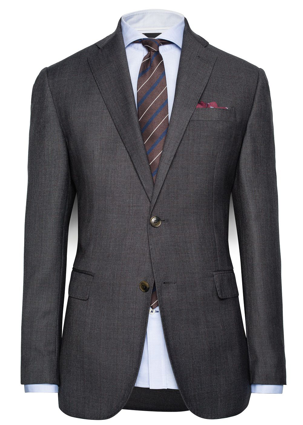 Prince of Wales classic-fit blazer