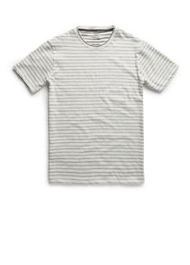 Reverse striped t-shirt