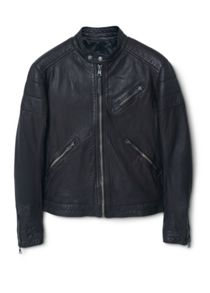 Martin leather biker jacket