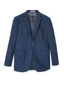 Mango Bird`s eye suit blazer