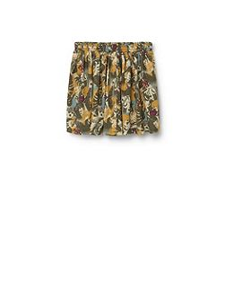 Girls: Floral print skirt
