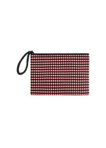 Mango Interwoven clutch