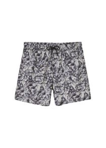 Mango Leaf-print swim Shorts