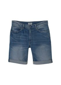 Mango Medium wash denim bermuda shorts
