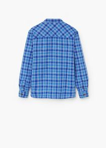 Mango Check cotton shirt