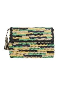 Mango Straw clutch