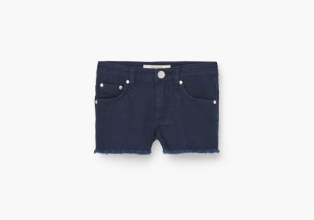 Mango Color denim shorts