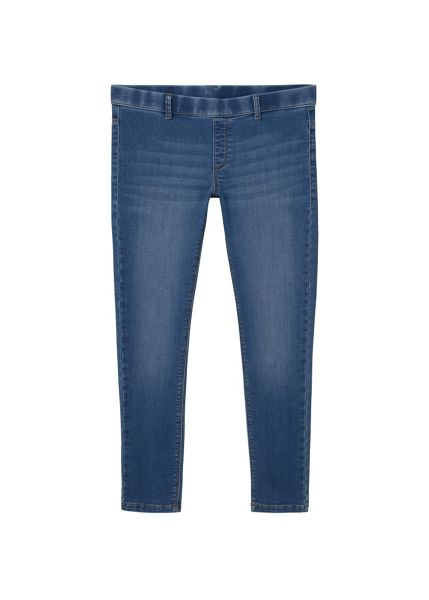 Mango Medium-wash Runner jeggings