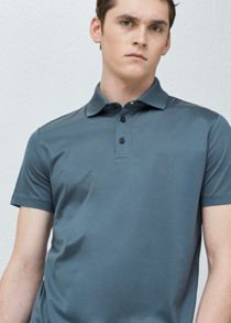 Mango Cotton Basic Polo Shirt
