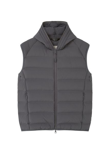 Mango Quilted lightweight feather gilet
