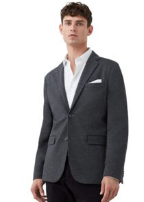 Mango Slim-fit plush blazer