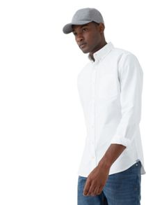 Mango Slim-fit cotton Oxford shirt