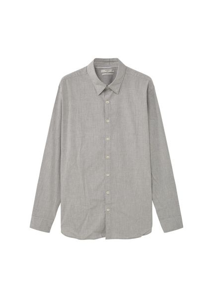 Mango Slim-fit melange shirt